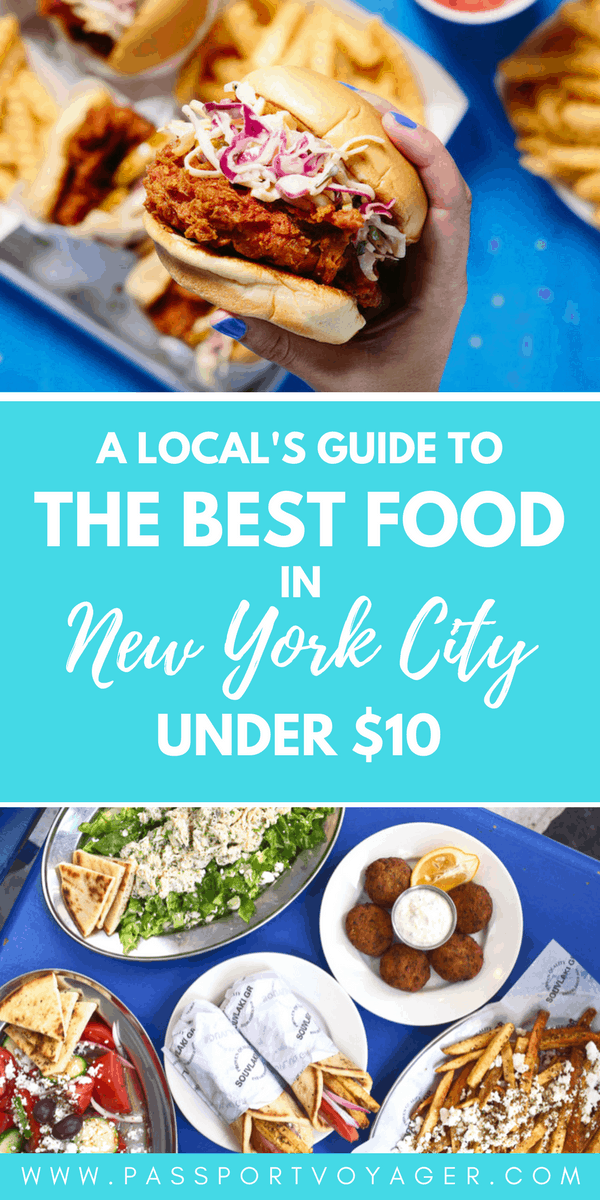 20 Cheap Places to Eat in New York City - Passport Voyager