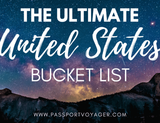 Looking for the most unique, beautiful destinations in the USA to add to your bucket list? Check out this amazing guide created by travel bloggers!