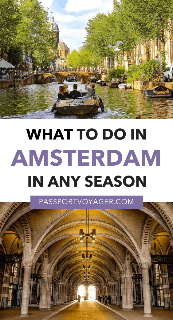 Don't miss the 26 hidden (and not-so-hidden) gems in this epic Amsterdam bucket list! Where to eat, what to explore, day trips from Amsterdam, and more. #amsterdam #netherlands #travel #wintertravel #europetravel