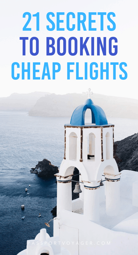 On a budget but still want to travel? Here's a guide to 21 of some of the most reliable & creative travel hacks for finding cheap flights by travel experts. #travel #travelhacks #cheapflights #budgettravel