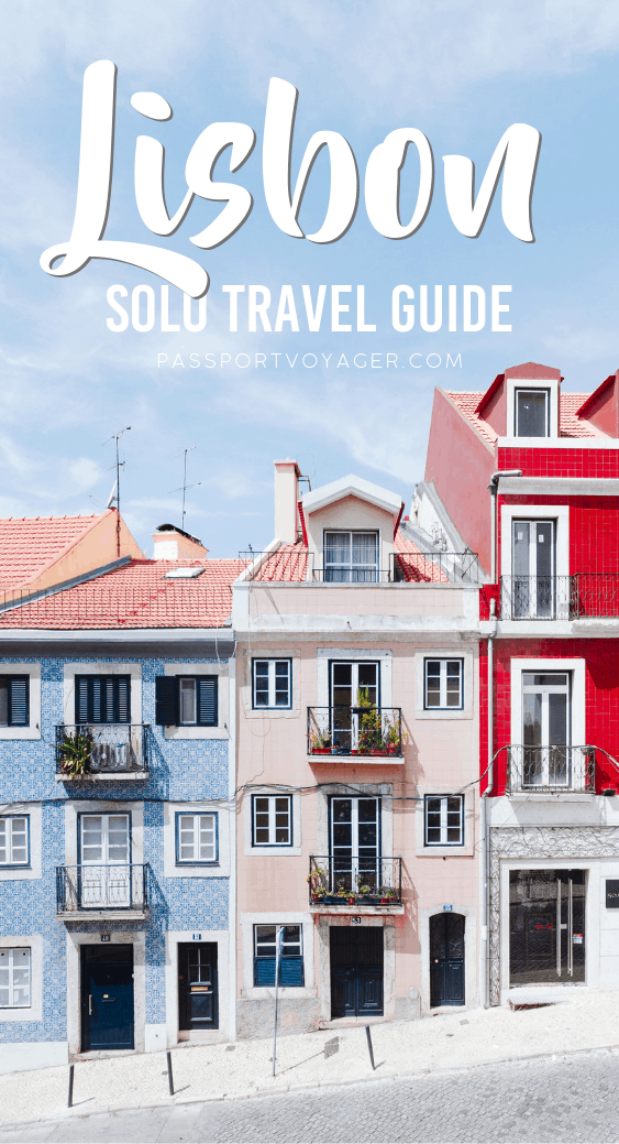 Heading to Portugal on your own and looking for some fun things to do? This Lisbon solo travel guide is exactly what you need to help plan your trip! #portugal #lisbon #travel #solotravel